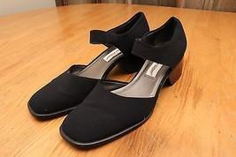 Etienne Aligner Black Chunky Heel Shoes Size 8.5 - $28.04