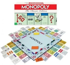 Monopoly Board Game The Classic Edition - $44.63