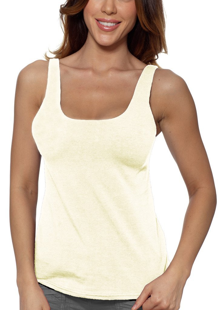 Primary image for Alessandra B Underwire Sports Bra Tank Top (34DD, Ivory)