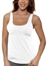 Alessandra B Underwire Sports Bra Tank Top (42C, White) - $29.99