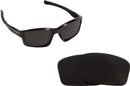 New SEEK Replacement Lenses Oakley Chainlink Asian Fit - Polarized Black - $17.35