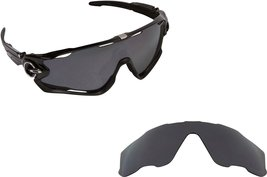 New SEEK Replacement Lenses Oakley JAWBREAKER Asian Fit Polarized Black ... - $24.05
