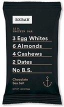 12 Chocolate sea salt RX bars - $29.99