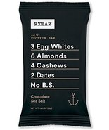 12 Chocolate sea salt RX bars - $29.99