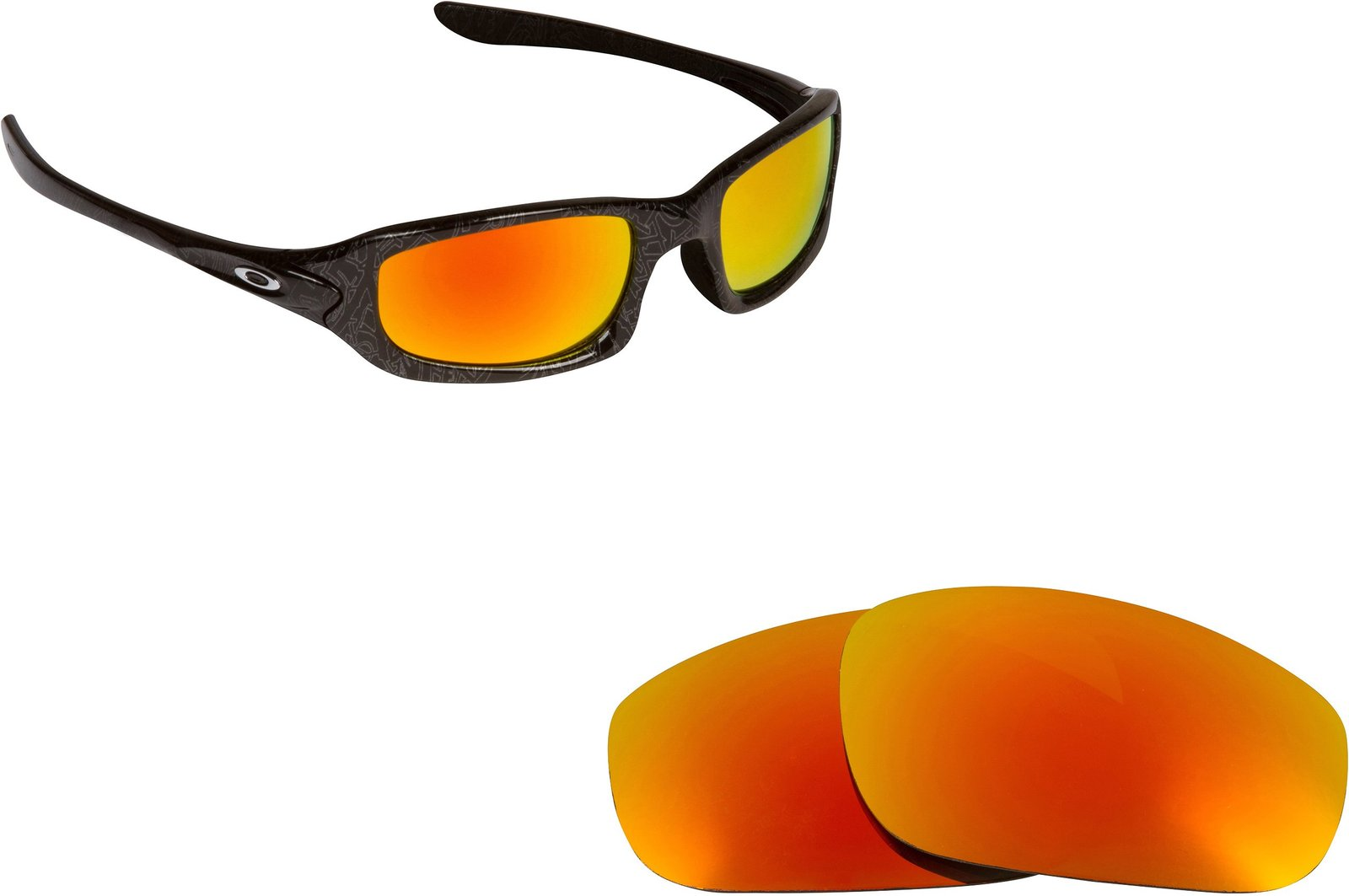 New SEEK Replacement Lenses Oakley FIVES (2009) - Polarized Yellow