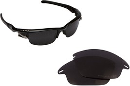New SEEK Replacement Lenses Oakley FAST JACKET Asian Fit - Polarized Black - $16.90