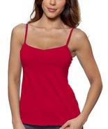 Alessandra B Underwire Bra Classic Camisole (34B, Red) - $24.99