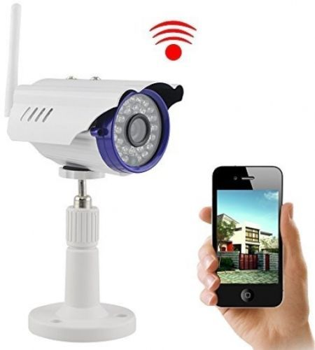IP Camera, UOKOO 720P 1.0 MegaPixel P2P Plug and Play Wifi Infrared Bullet HD