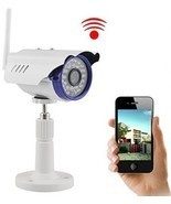 IP Camera, UOKOO 720P 1.0 MegaPixel P2P Plug and Play Wifi Infrared Bul... - $137.24 CAD