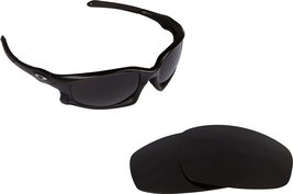 New SEEK OPTICS Replacement Lenses Oakley WIND JACKET - Polarized Black ... - $16.46