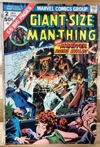 GIANT-SIZE MAN-THING #2 (1974) Marvel Comics VG - $9.89