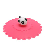 (panda)1pc Lovely Anti-dust Silicone Super Mary Cup Cover Leakproof Coff... - $14.00
