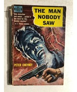 THE MAN NOBODY SAW by Peter Cheyney (1949) Avon mystery paperback - $9.89