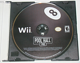 Nintendo Wii - POOL HALL PRO (Game Only) - $6.75