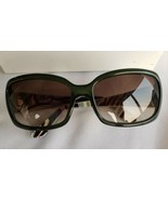 Emilio Pucci Women Sunglasses Translucent Green Brown Lenses Large EP677... - $123.75