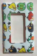 Angry Birds icon Home decor Light Switch Duplex Outlet wall Cover Plate & more image 3