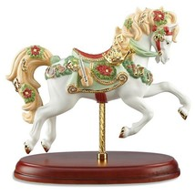 Lenox 2016 Christmas Carousel Horse Figurine Annual Limited Ed Musical Notes NEW - $162.56