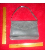 "REMO 10""x7.5""x2.5"" full-lined gray purse/clutch Inner-zip-pocket Removab... - $7.91"