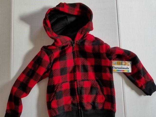 Cherokee Infant Boys Hooded Jacket Windbreaker Blue or Black Sizes 18M 4T 5T NWT