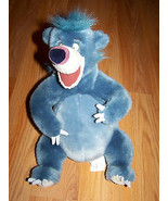 "Disney Store The Jungle Book Baloo Blue Plush Bear 12"" Stuffed Animal EUC - $24.00"