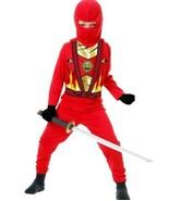 Avengers Red Ninja Boys Halloween Costume Sizes M(8-10)  L(10-12 )USA Se... - $15.99