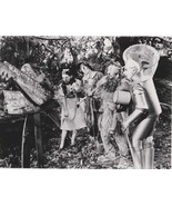 Professional Quality Wizard of Oz Cast Dorothy Tin Man 8x10 black & white  - €2,75 EUR
