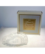 Vintage Fostoria Avon Heart and Diamnod pressed... - $12.00