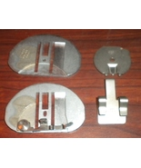 Singer 600E Chainstitch Throat Plate w/Thread Guide,Loop Retaining Disk + - $20.00