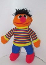 "10.5"" - 11"" plush Ernie sesame street soft plush doll Hasbro Softies Taiwan - $3.99"
