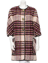 Authentic Coach F83103 Women's Plaid Boucle Archive Winter Coat - XS/S  - $279.00