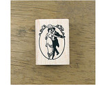 Shall We Dance Vintage Ink Rubber Stamp DIY Craft Decor