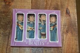 "Beatles Original 1964 8"" Car Mascots Bobbn' Heads Bobbleheads Nodders in Box - $1,058.17"