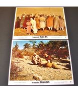 2 1976 James L. Conway Movie IN SEARCH OF NOAH'S ARK Lobby Cards Vern Ad... - $20.95