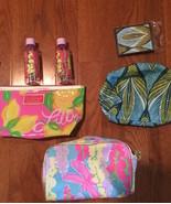 Estee Lauder Lily Pulitzer Bags x3  Mirror, Comb, Bottles - $12.99