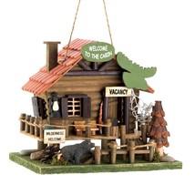 Woodland Cabin Birdhouse - $32.95