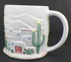 OTAGIRI CURTIS-SWANN COFFEE MUG SOUTHWEST PUEBLO ADOBE HOMES CUP - $14.99