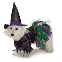 Dog Halloween Costume Scary Witch Costumes Dress Pet BRAND NEW Zack & Zoey - $24.99+