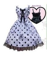 Angelic Pretty Dolly Dot JSK Jumperskirt Dress Lolita Japanese Fashion K... - $479.00