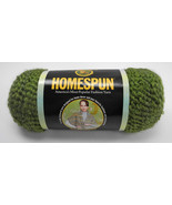 Homespun Lion Acrylic/Poly Blend Brand Yarn - 1 Skein - Green Color #378 Olive - $6.60