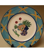 Mikasa Fashion Plate Ocean Collage ~ DX102 12 1/4 Inch Serving Plate Fish  - $39.59