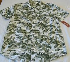 Boy's Arizona Button Front Short Sleeve Shirt Small 8 Palm Trees NEW - $11.87