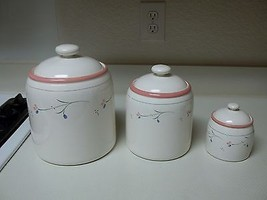 Ranmaru Nordic Wind Canister Set ~ Set of 3 Canisters with Lids  - $69.29