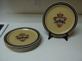 Newcor Stoneware ~ Coronet ~ Set of 5 Dinner Plates ~ Japan  - $59.39