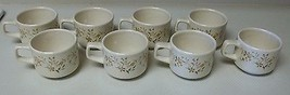 Lenox Temperware Merriment Set of 8 Cups Stonew... - $69.29