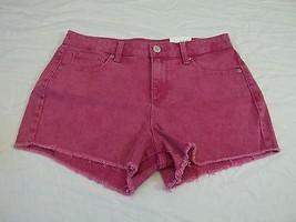 Women's Decree Jean Shorts Ultra Pink Size 5 New W Tags HOT! Cutoff Shorts - $18.80