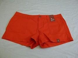 Arizona Jean Co. Women's Juniors Shorts Cyber Orange Sz 0 New W Tags - $15.83