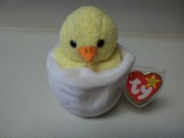 MWMT Rare Eggbert Chick in Egg / Gasport Error & Birthdate Error TY BEAN... - $24.75
