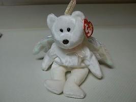Retired MWMT Ty Beanie Baby Halo the Bear 1998 Gasport Error PE Pellets   - $14.85