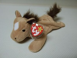 Ty Derby the Horse Beanie Baby Retired Mint with Tags Error On Tag Soft ... - $24.75