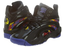 Reebok Shaqnosis OG Youth Boys Size 5.5 Black B... - $52.25